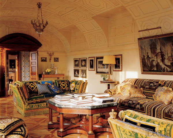 Donatella Versace Home living room