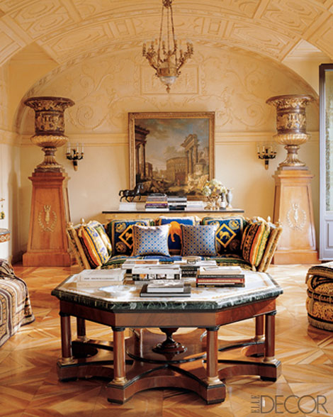 Donatella Versace Living Room
