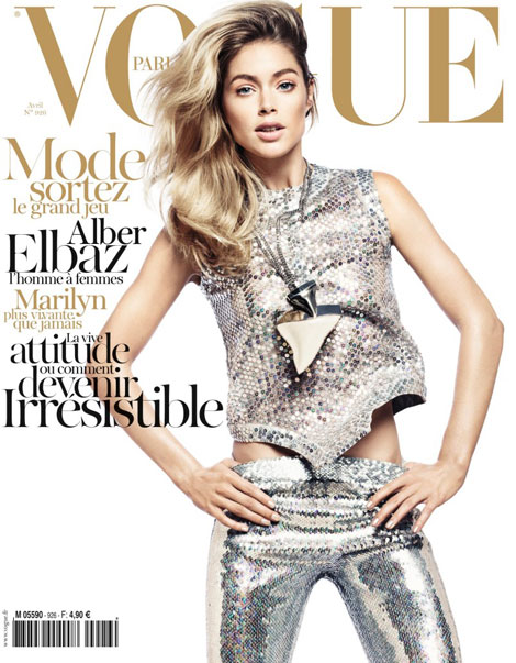 Doutzen Kroes Vogue Paris April 2012 Cover