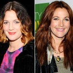 Drew Barrymore new hairstyle old hairstyle