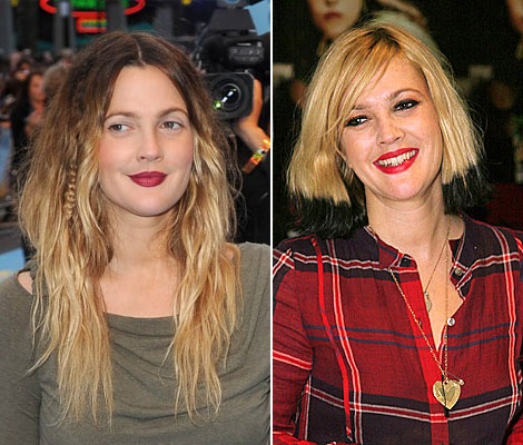 Drew Barrymore's Hair Goes Back To Ombre. Should We Ombre Hair Too?