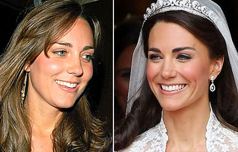 Duchess Kate makeup