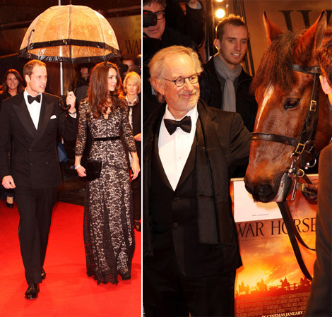 The Duchess Of Cambridge On The Same Red Carpet As The War Horse!