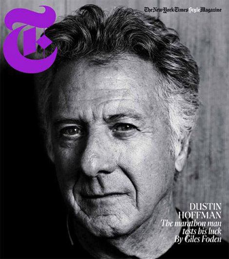 Dustin Hoffman NY Times T Style Men fashion cover
