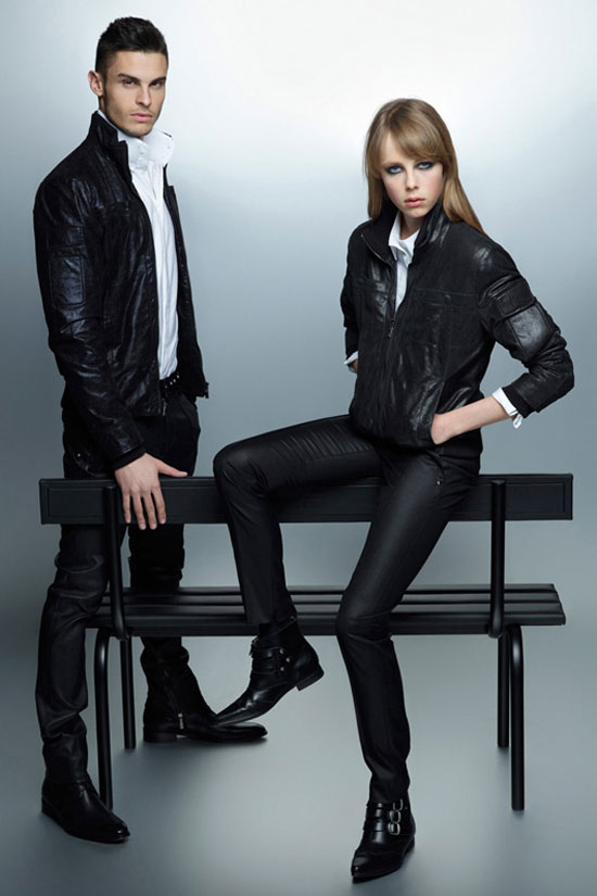 Edie Campbell, Baptiste Giabiconi, Karl Lagerfeld Fall 2012 Ad Campaign