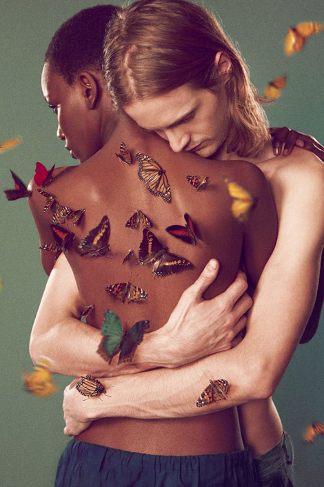 Amazing Edun Spring Summer 2012 Butterfly Ad Campaign