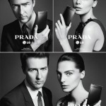 Edward Norton Daria Werbowy Prada LG Ad Campaign