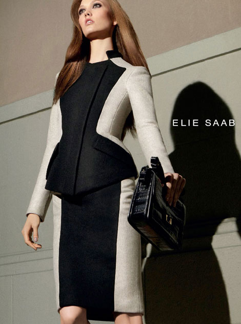 Karlie Kloss, The New Barbie (Elie Saab Fall 2012 Ad Campaign)
