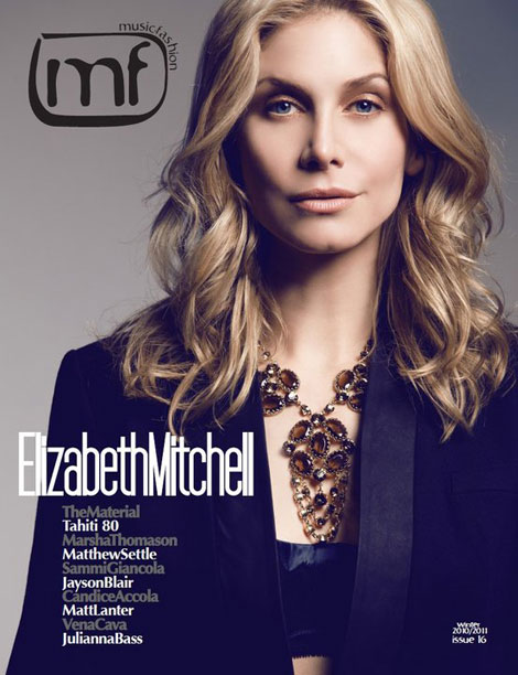 Elizabeth Mitchell MF Magazine January 2011 cover