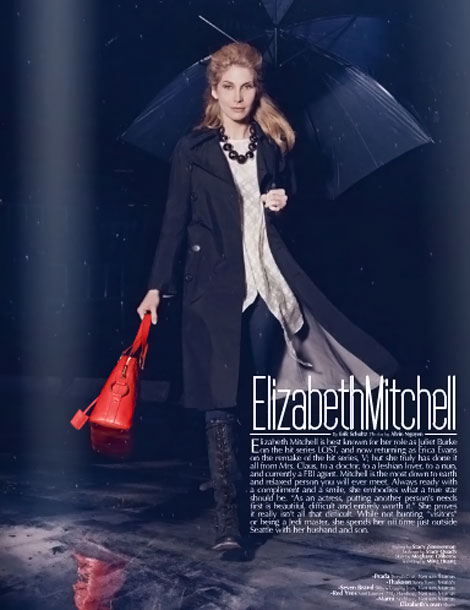 Elizabeth Mitchell MF Magazine January 2011