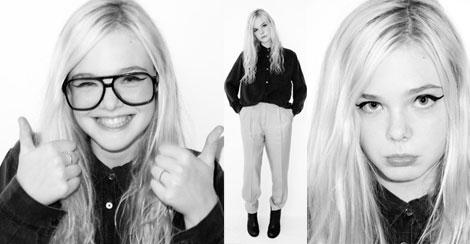 Lovely Elle Fanning By Bad Uncle Terry