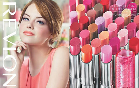 Emma Stone And Olivia Wilde For Revlon Spring Summer 2012 Ad Campaign