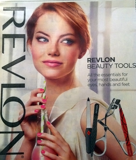 More Emma Stone For Revlon Ad Campaign