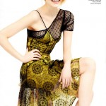 Emma Stone delicate for Vogue
