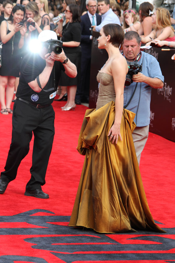 Emma Watson Harry Potter Red Carpet