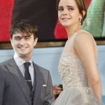 Emma Watson Harry Potter premiere crying
