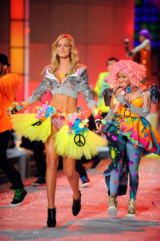 Erin Heatherton 2011 Victoria s Secret Nicki Minaj