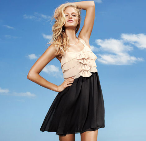 Erin Heatherton campaign for H M by Night