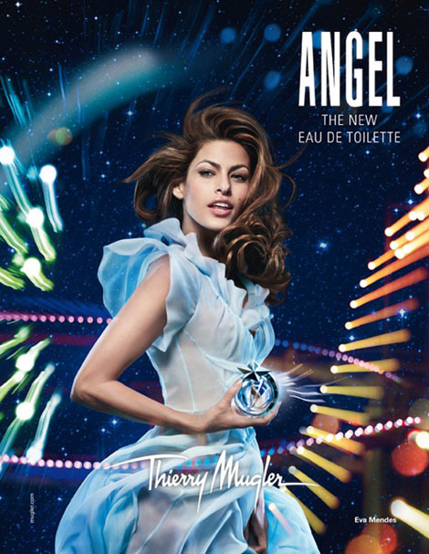 Eva Mendes Is Thierry Mugler's Angel