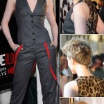Evan Rachel Wood new short blond hair
