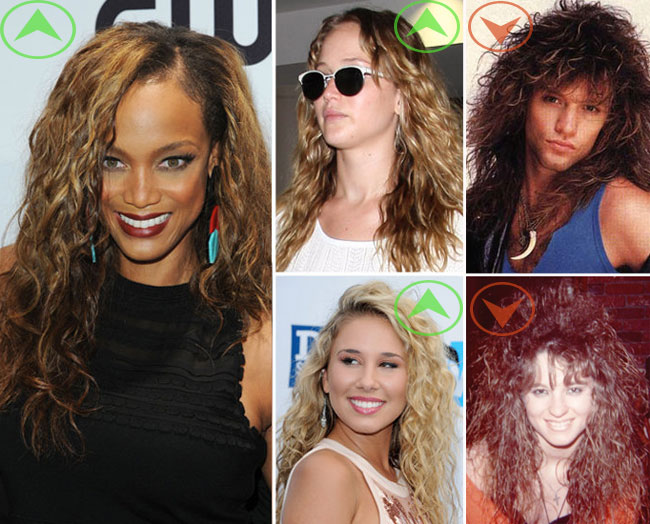 New Hair Must For Fall: 80s Tousled Waves
