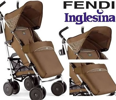 Fendi Inglesina Stroller For Your Stylish Baby