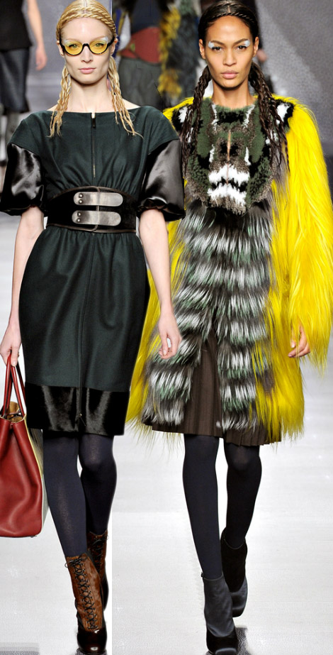Fendi Fall Winter 2012 2013 collection