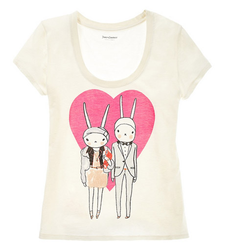 Fifi Lapin Juicy Couture tee shirt