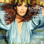 Florence Welch Vogue UK January 2012 cover