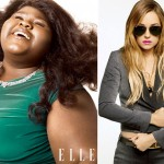 Gabourey Sidibe Lauren Conrad Elle October 2010 large