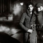 Gabriella Wilde Roo Panes Burberry FW 12 13 Ad Campaign