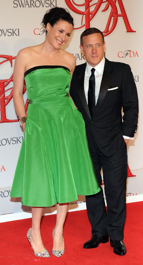 Garance Dore And Scott Schuman. Awkward CFDA Pair