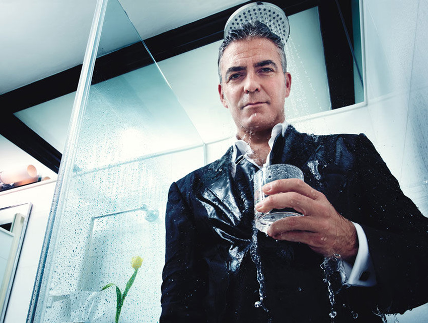 George Clooney W magazine picture