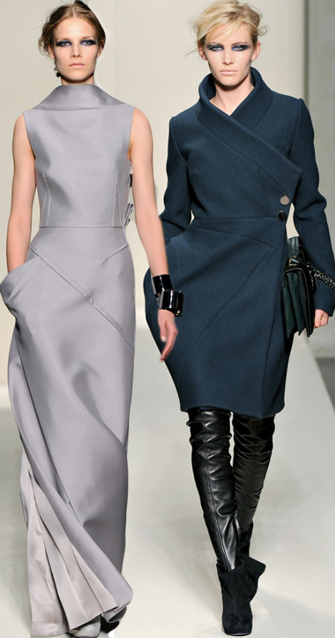 Pocket Geometry: Gianfranco Ferre Fall 2012 Collection