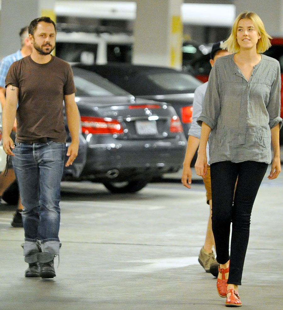 Giovanni Ribisi with wife Agyness Deyn