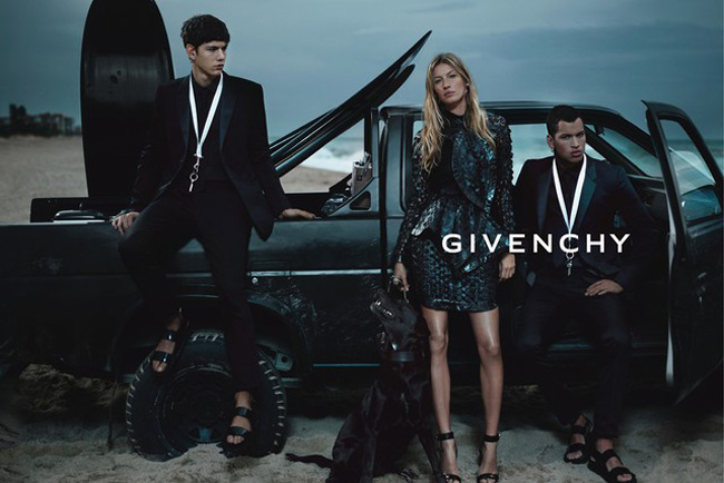 Gisele Bunchen's Givenchy Spring Summer 2012 Ad Campaign