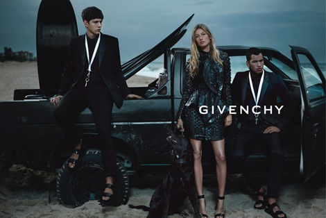 Gisele Givenchy Summer 2012