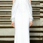 Givenchy Couture Spring 2012 white dress