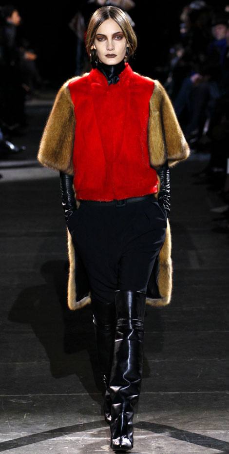 Givenchy Fall Winter 2012 2013 collection