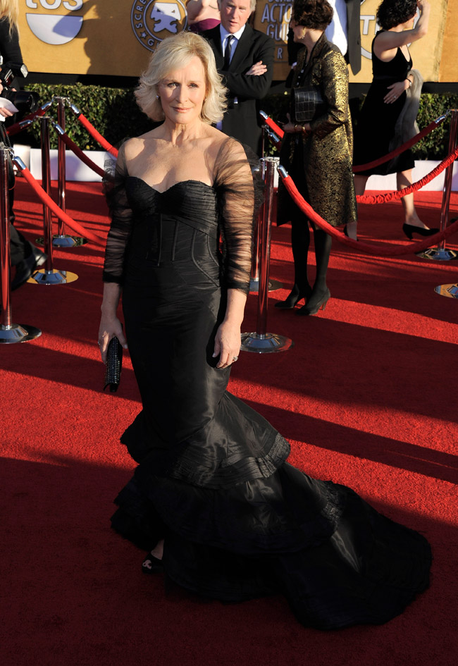 The Black Dresses From 2012 Sag Awards Red Carpet Stylefrizz