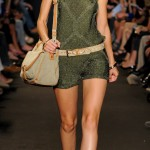 Glitter Safari outfit Paul and Joe Spring Summer 2012