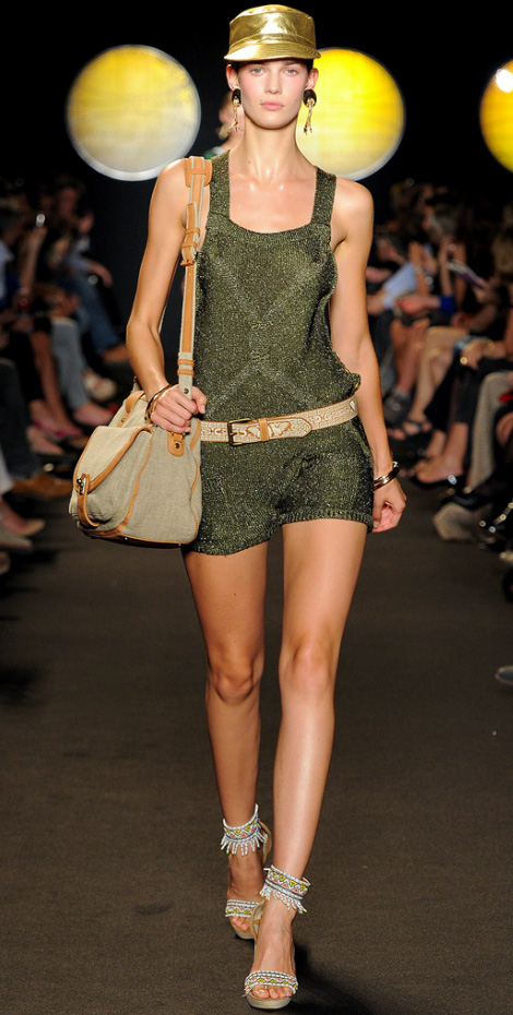 Glitter Safari Outfit. Paul & Joe Spring Summer 2012