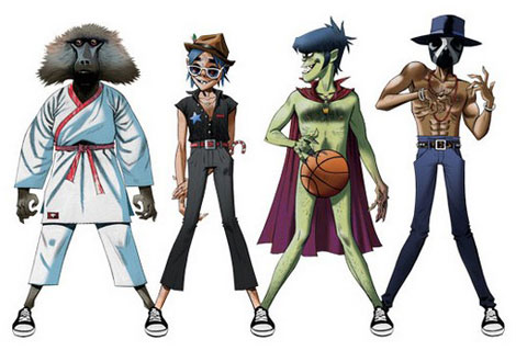 Converse DoYaThing With Gorillaz, Andre 3000, James Murphy