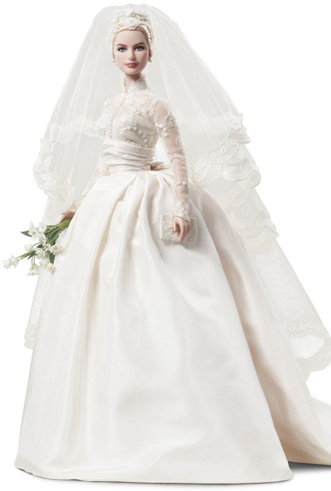Grace Kelly Bride Barbie