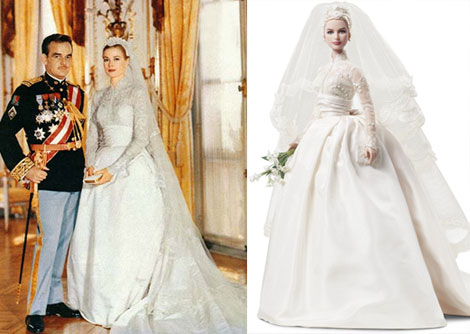 Grace Kelly Bride doll