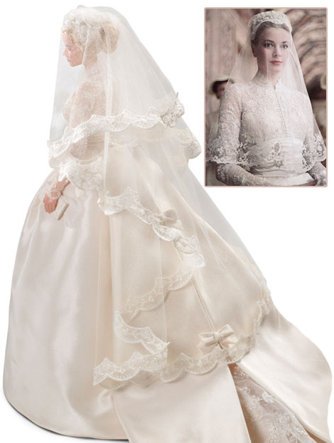 Grace Kelly Bride veil Barbie