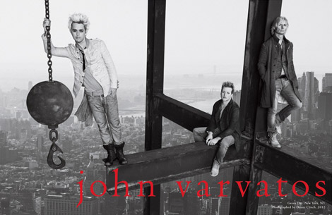 How About Green Day's Spring Summer 2012 Ad Campaign