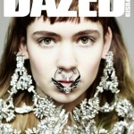 Grimes Dazed and Confused by Hedi Slimane April 2012 cover