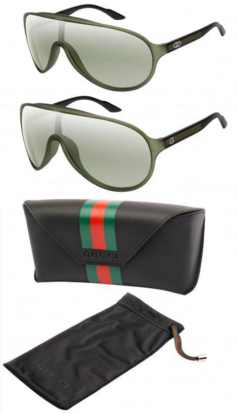 Gucci Safilo Eyeglass Frames : Guccis Safilo EcoConscious Eyewear Collection - StyleFrizz