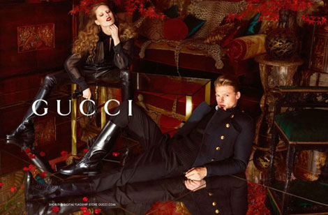 Gucci Fall goth ad campaign
